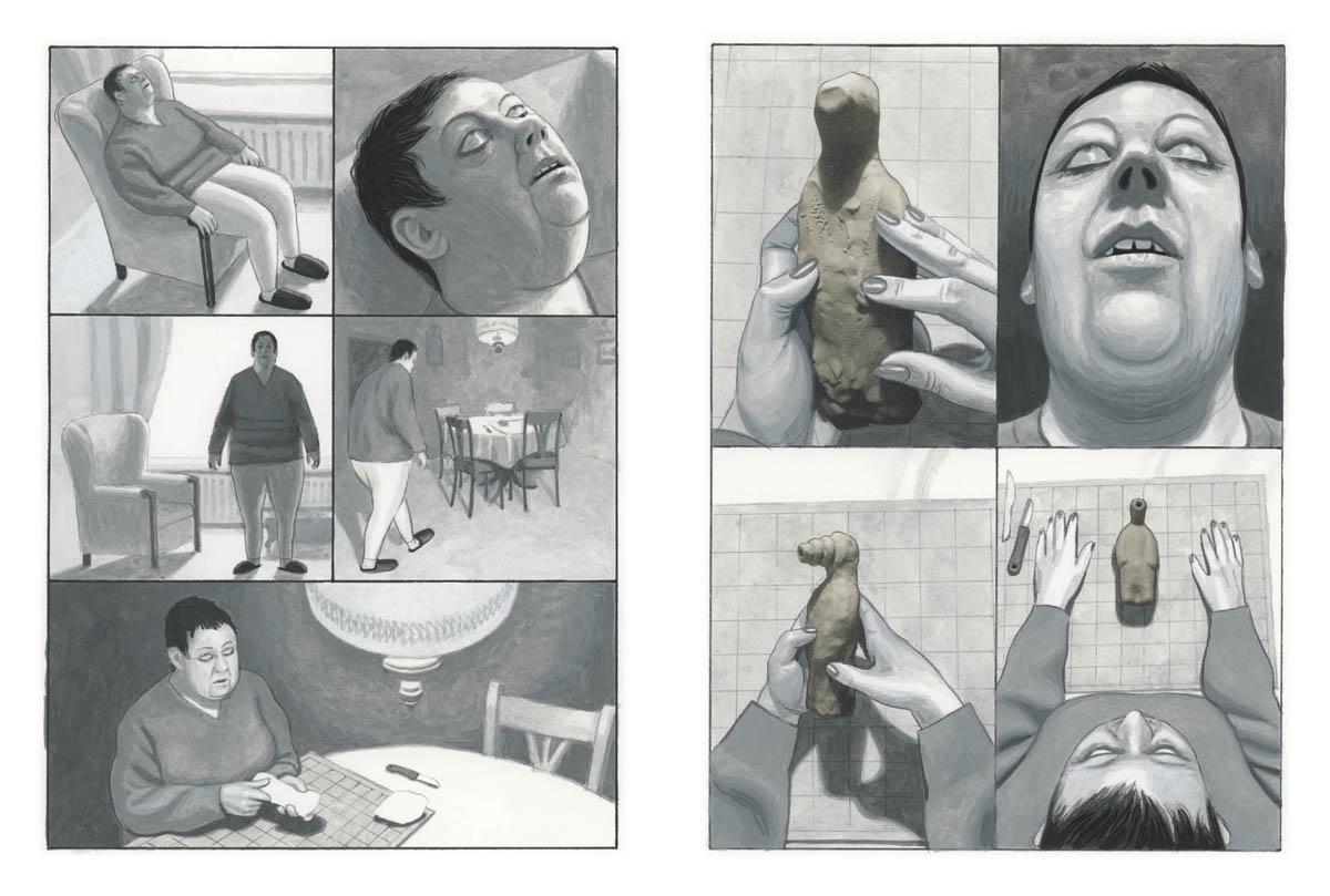 Muggen blz. Feikje door Bart Nijstad