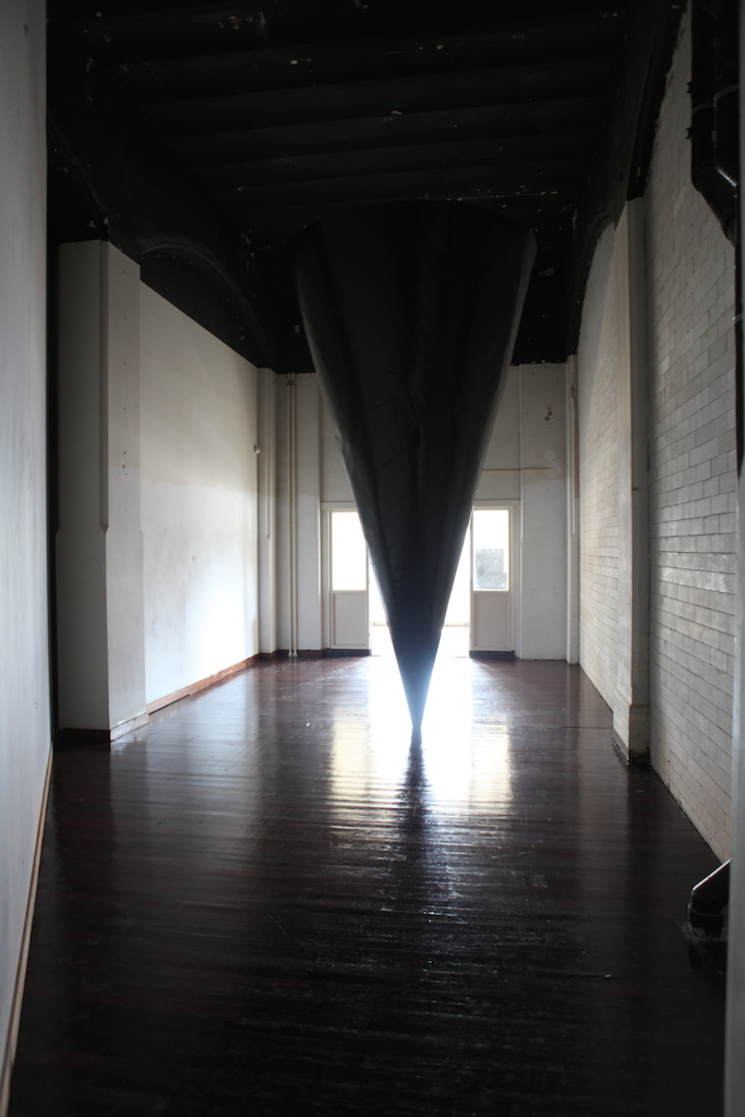 1 Ivanka annot The cone in place, mixed media, 3.5x2.5x2.5 m, 2014