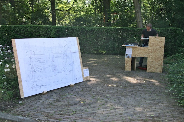 55 stand draw your map amstelpark