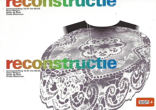 1 reconstructie flyer voor