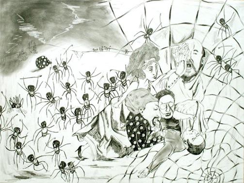 7a Chiaki Kamikawa Death in Web 2007 48x64