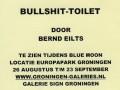 BULLSHIT-TOILET Bernd Eilts