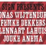 Jonas, Femke, Lennart, Jouke