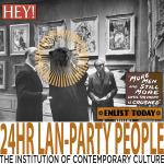 24 Hr LAN- party people THE XIII Kunstvlaai 2012